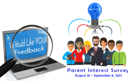 Parent Interest Survey – We'd like to hear from you!