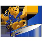 Roosevelt Teddy Bear Surfing
